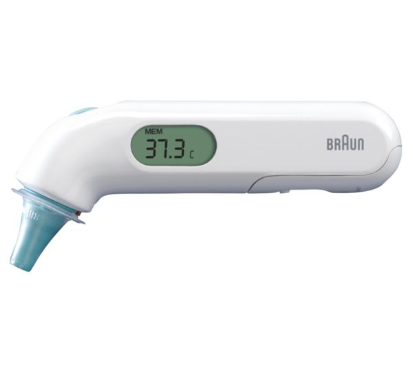 BRAUN ThermoScan 3 Ear Thermometer, Braun