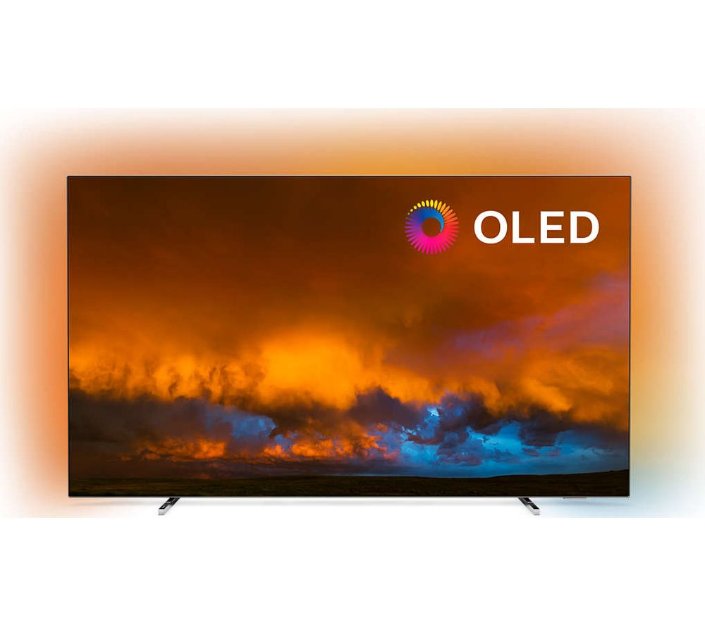 "65"" PHILIPS 65OLED804/12  Smart 4K Ultra HD HDR OLED TV with Google Assistant"