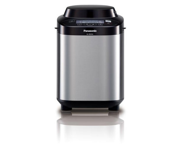PANASONIC SD-ZB2502BXC Fruit & Nut Breadmaker - Stainless Steel, Stainless Steel