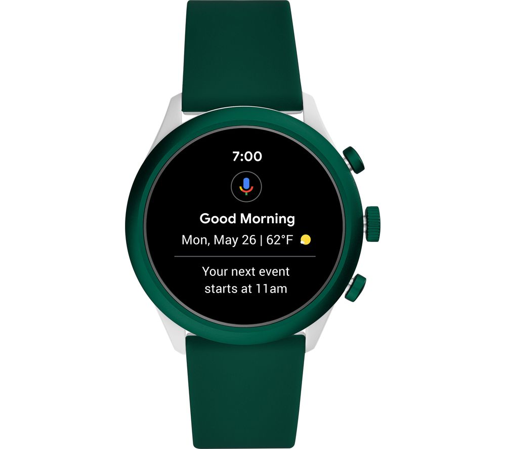 FOSSIL Sport FTW4035 Smartwatch - Green, 43 mm, Green