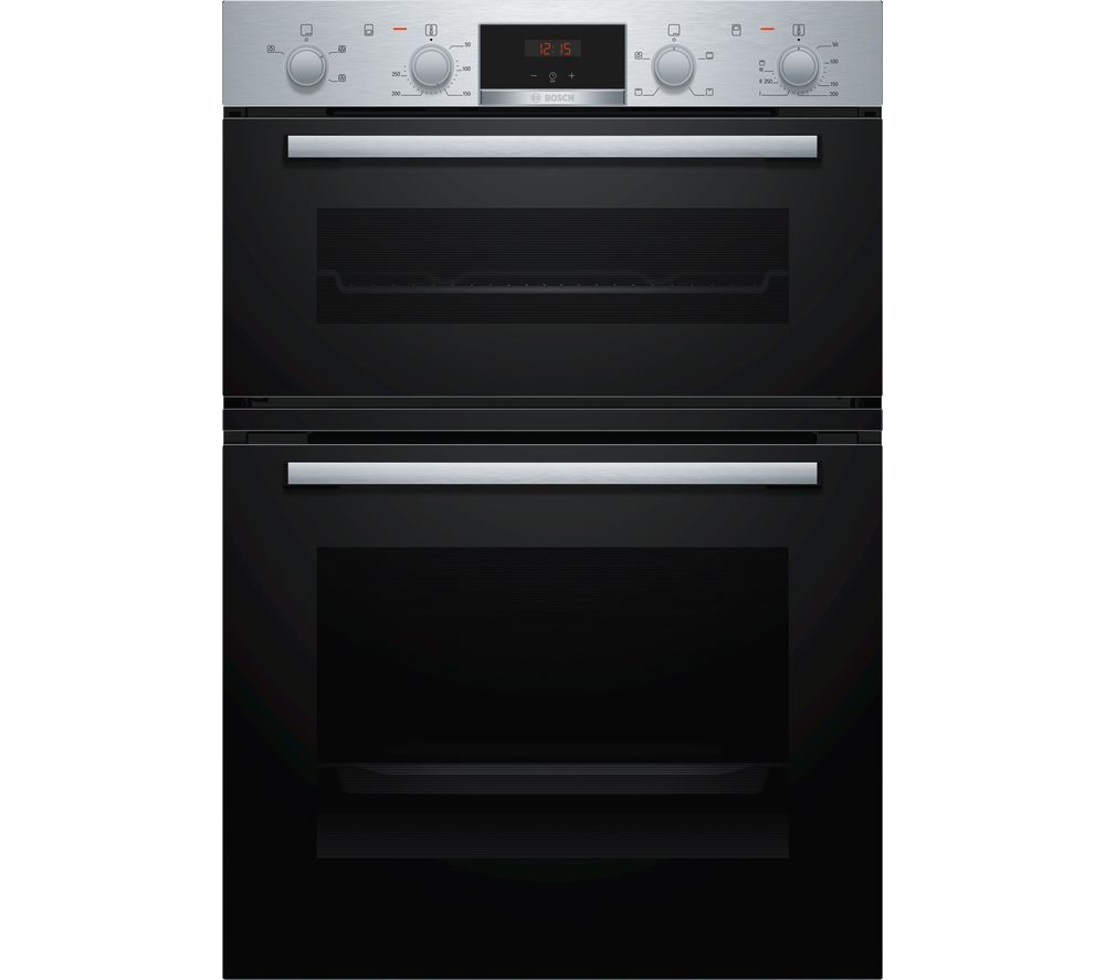BOSCH MHA133BR0B Electric Built-in Double Oven - Stainless Steel, Stainless Steel