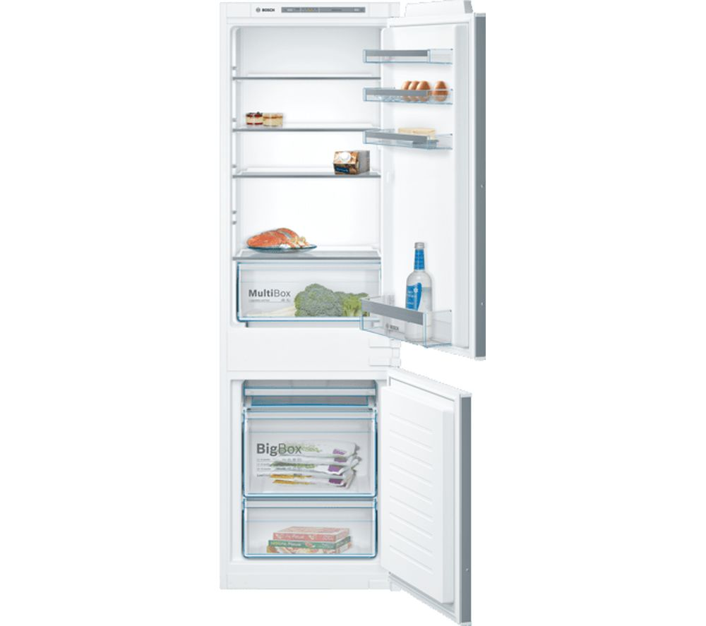 BOSCH Serie 4 KIV86VSF0G Integrated 60/40 Fridge Freezer - Fixed Hinge