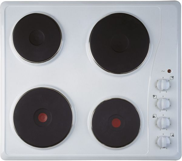 INDESIT TI 60 W Electric Solid Plate Hob - White, White