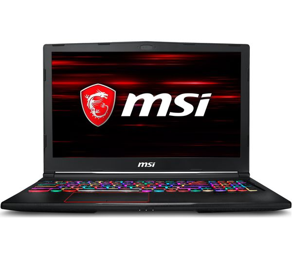 "MSI Raider RGB GE63 15.6"" Intel®� Core™� i7 GTX 1070 Gaming Laptop - 1 TB HDD & 256 GB SSD"