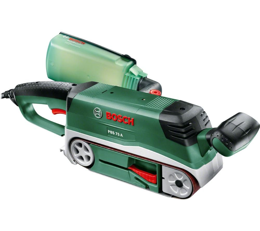 BOSCH PBS 75 A Belt Sander - Black & Green, Black