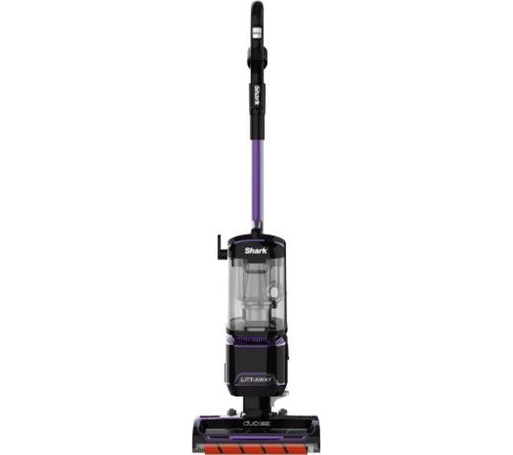 Shark DuoClean Lift-Away NV702UK Upright Bagless Vacuum Cleaner - Grey & Purple, Grey