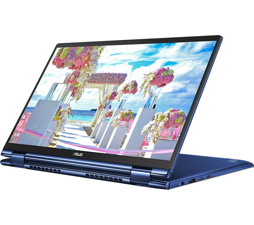 ASUS ZenBook Flip 13 UX362FA 13.3� Intel®� Core™� i5 2 in 1 Laptop - 256 GB SSD, Blue, Blue