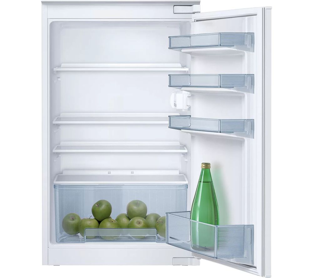NEFF N30 K1514XF0G Integrated Undercounter Fridge - Fixed Hinge