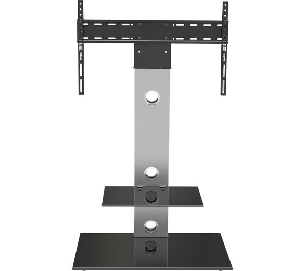 AVF Lesina FSL700LES TV Stand with Bracket - Silver & Black, Silver