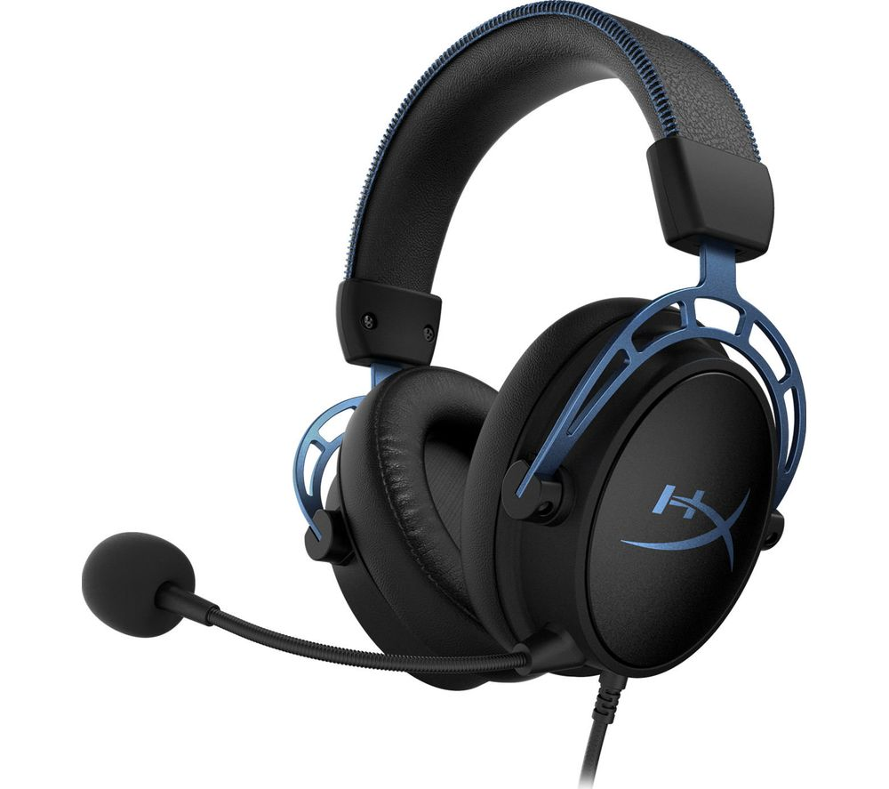 HYPERX Cloud Alpha S 7.1 Gaming Headset - Black, Black