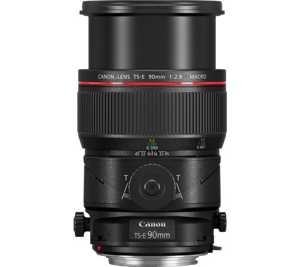 Canon TS-E 90 mm f/2.8 MACRO Tilt-shift Lens