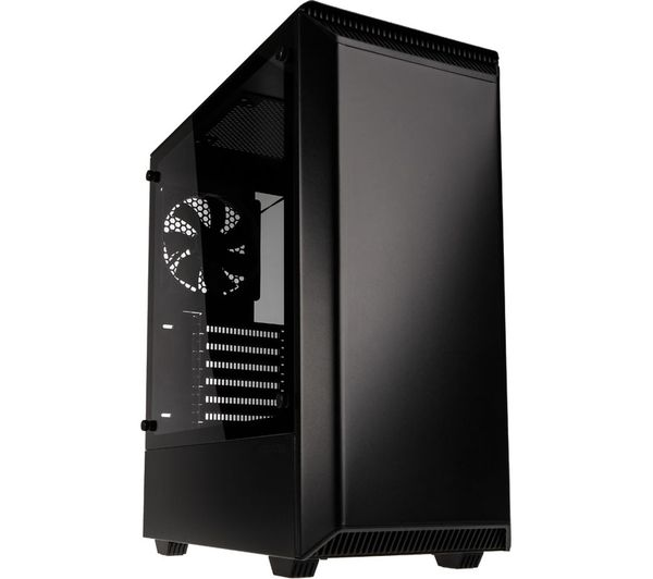 PHANTEKS Eclipse P300 E-ATX Midi-Tower PC Case - Black, Black