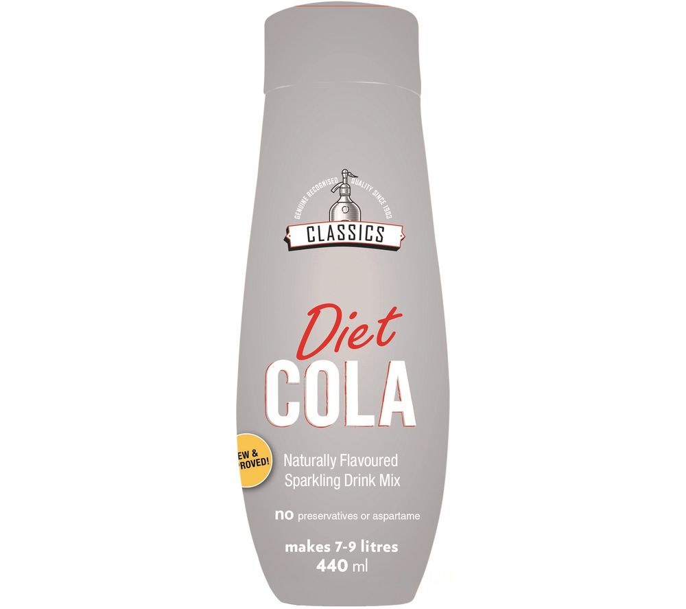 SODASTREAM Classics Naturally Flavoured Sparkling Drink Mix - Diet Cola