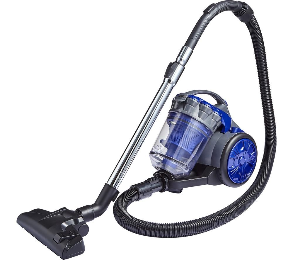 TOWER T102000PETS Cylinder Vacuum Cleaner - Blue, Blue