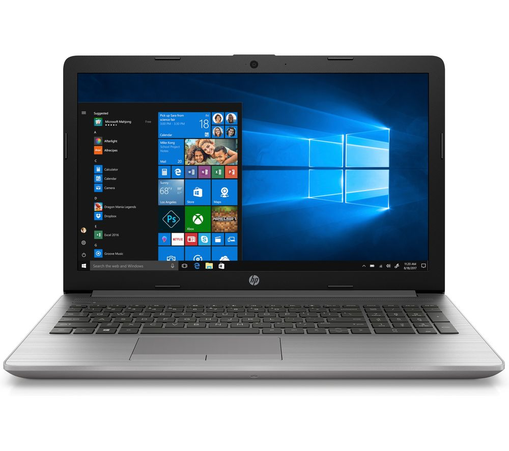 "HP 255 G7 15.6"" Laptop - AMD Ryzen 5, 256 GB SSD, Silver, Silver"
