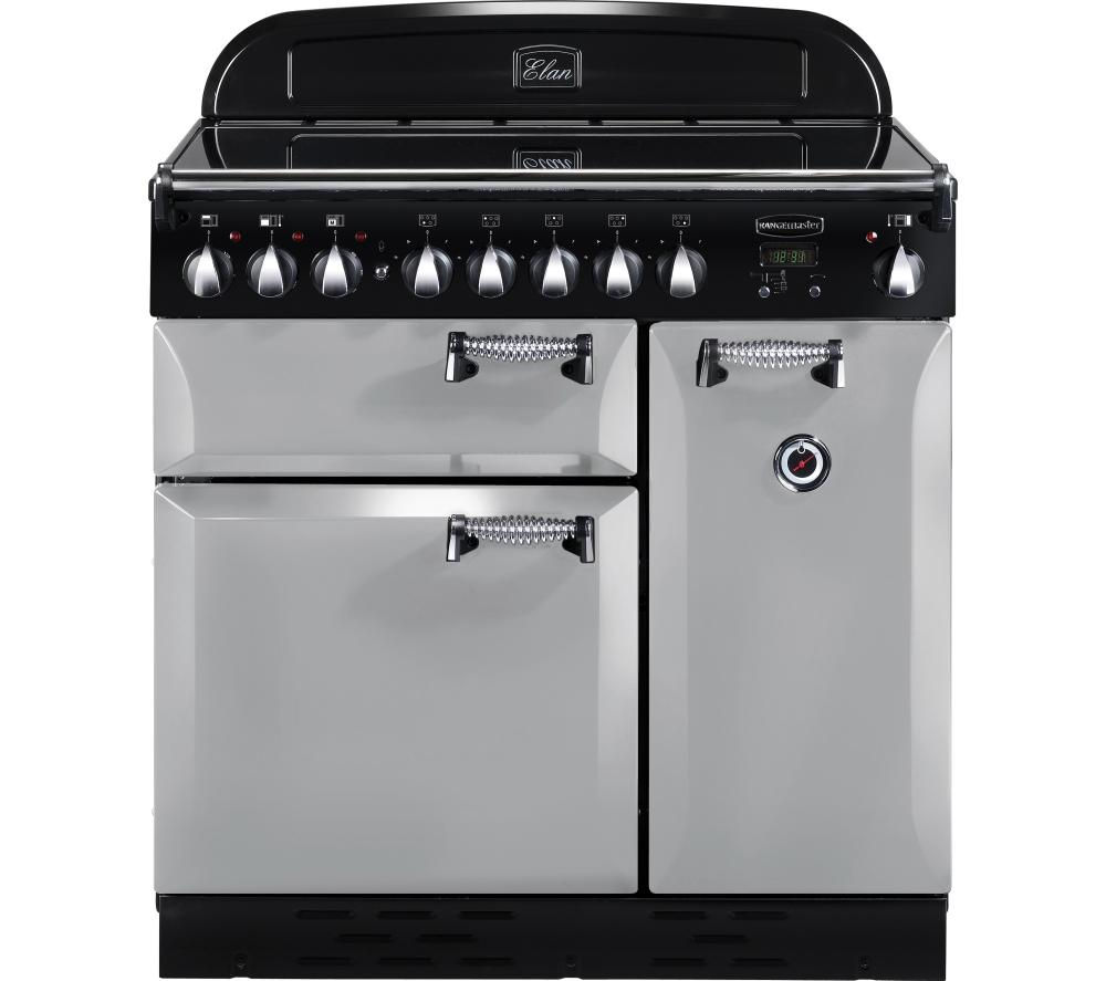 RANGEMASTER Elan 90 Induction Range Cooker - Royal Pearl