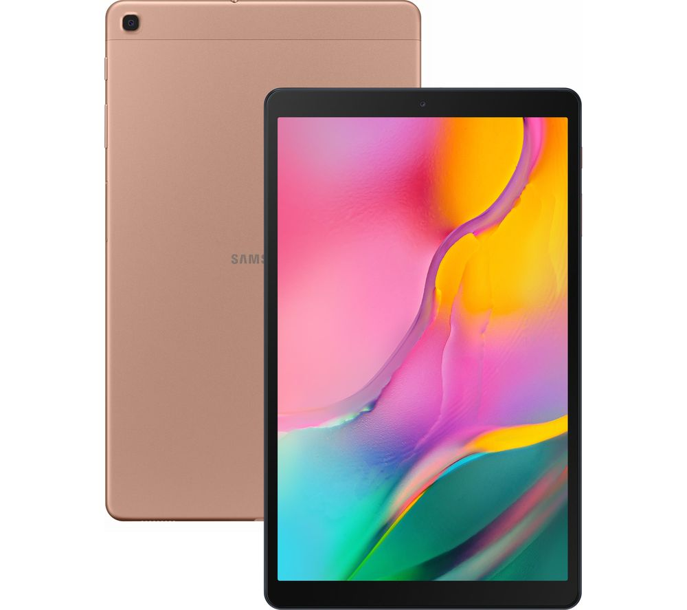 "Galaxy Tab A 10.1"" Tablet (2019) - 32 GB, Gold, Gold"