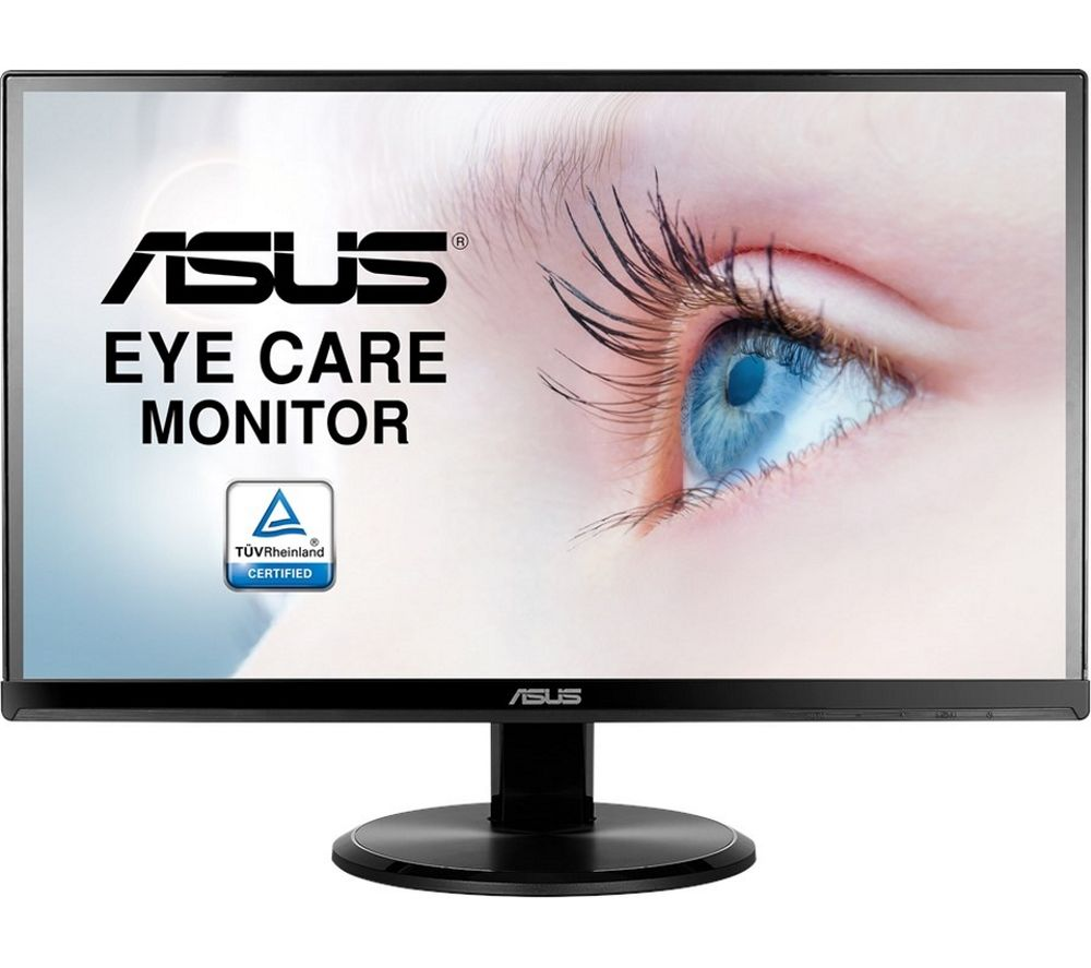"ASUS VA229H Full HD 21.5"" LED Monitor - Black, Black"