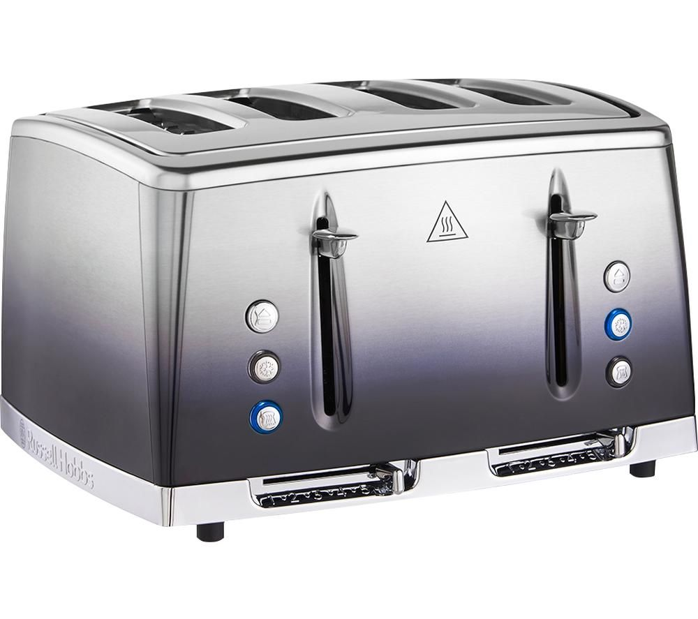 RUSSELL HOBBS Eclipse 25141 4-Slice Toaster - Midnight Blue, Blue