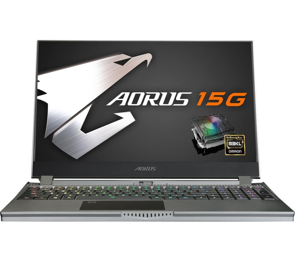 "GIGABYTE AORUS 15G 15.6"" Gaming Laptop - Intel®Core™ i7, GTX 1660 Ti, 512 GB SSD"