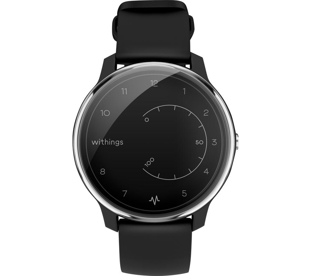 WITHINGS Move ECG Activity Tracker - Black, Black