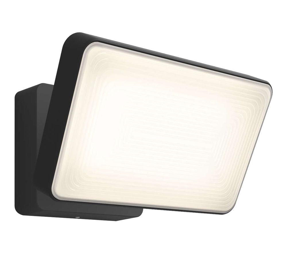 PHILIPS Hue Welcome Outdoor Floodlight - Black, Black