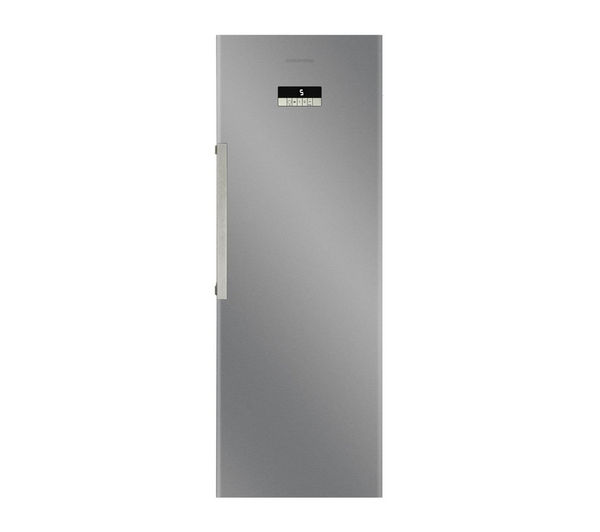 GRUNDIG GSN10720X Tall Fridge - Stainless Steel, Stainless Steel
