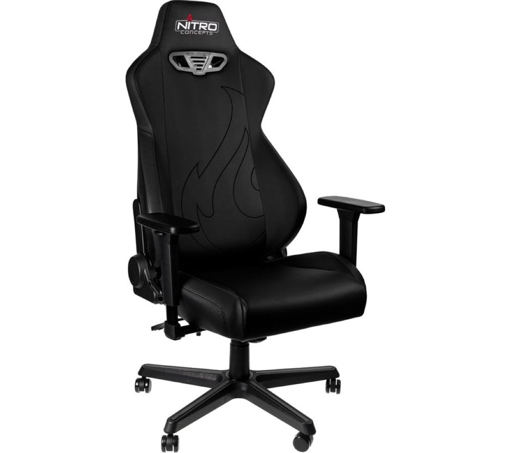 NITRO CONCEPTS S300 EX Gaming Chair - Black, Black