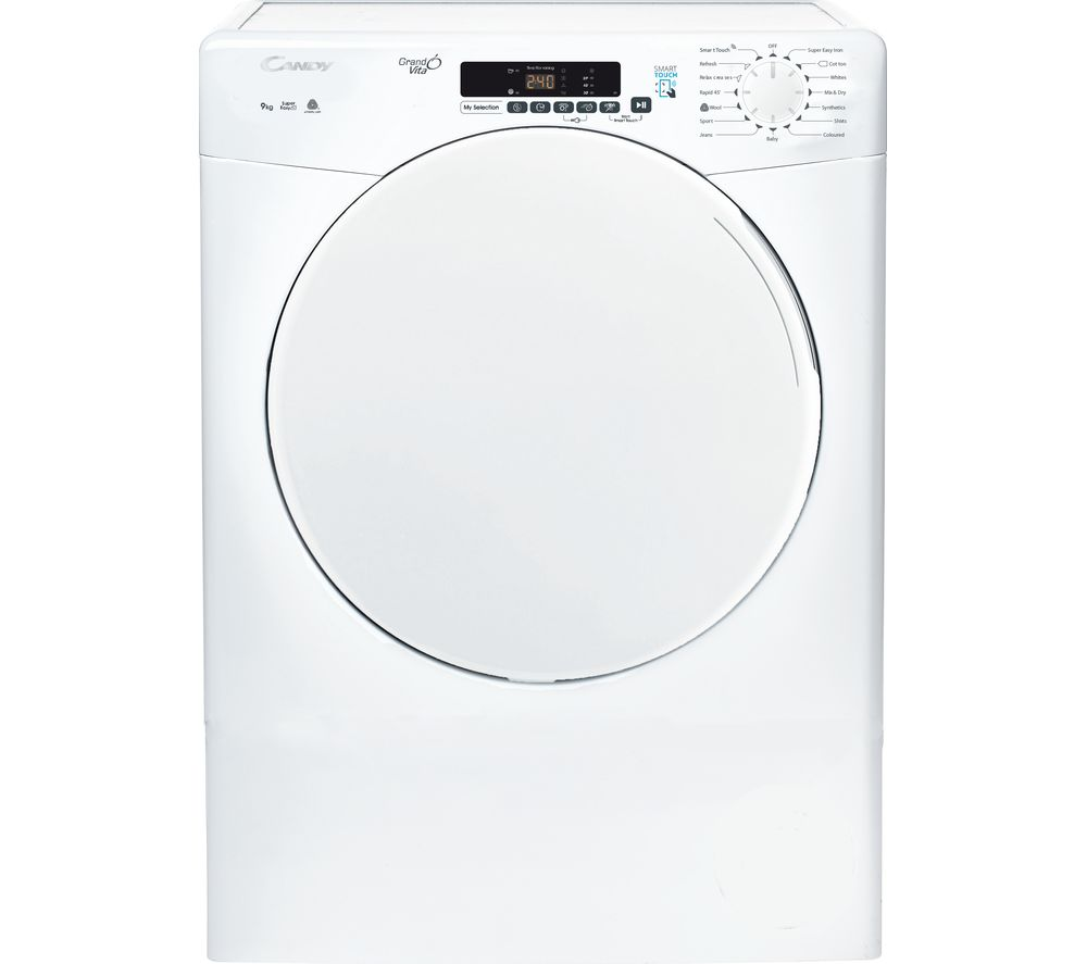CANDY CSV 9DF WiFi-enabled 9 kg Vented Tumble Dryer - White, White