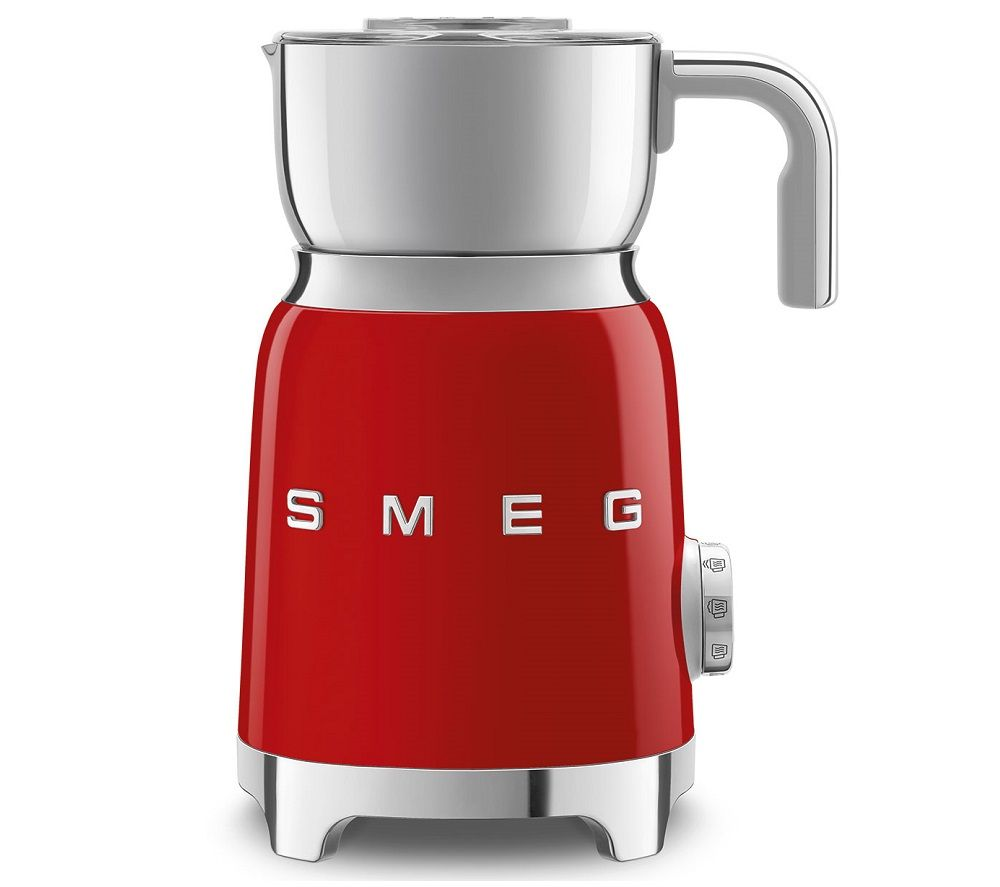 SMEG MFF01RDUK Milk Frother - Red, Red