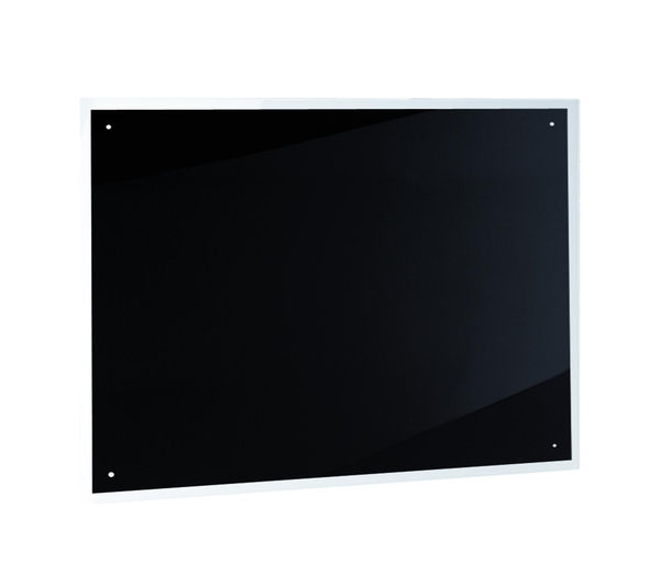 BAUMATIC BSB7.1BGL Glass Splashback, Black