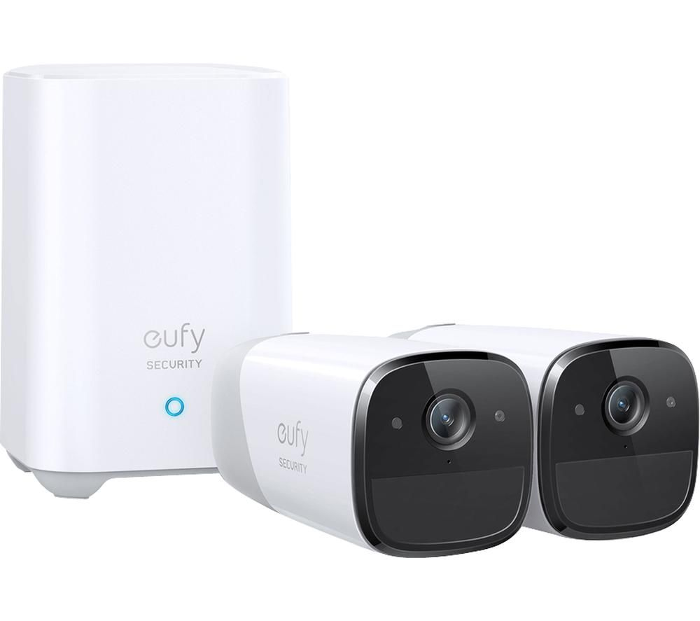 EUFY EUFYCam 2 Pro 2K WiFi Security Camera System - 2 Cameras