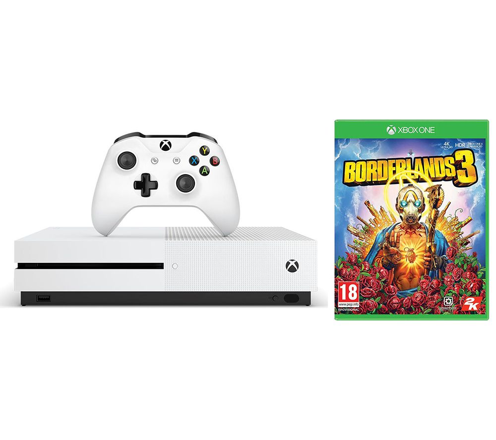 MICROSOFT Xbox One S & Borderlands 3 Bundle - 1 TB