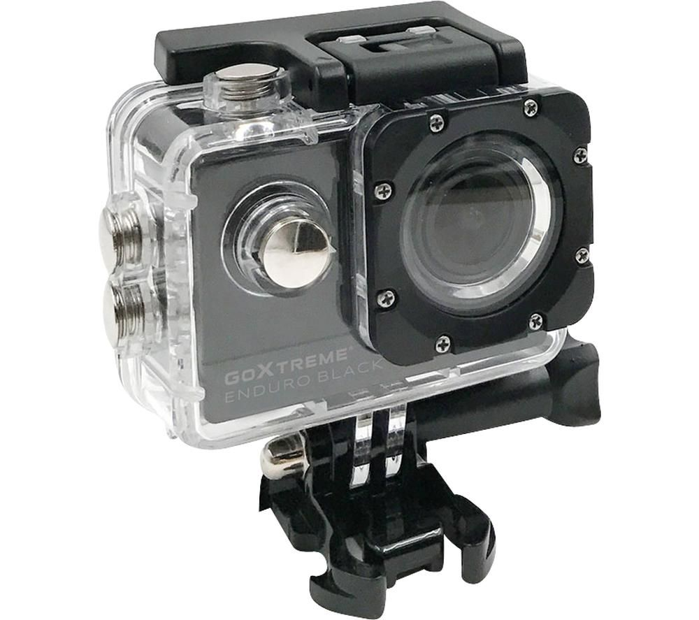 GOXTREME Enduro Black 4K Ultra HD Action Camera - Black, Black
