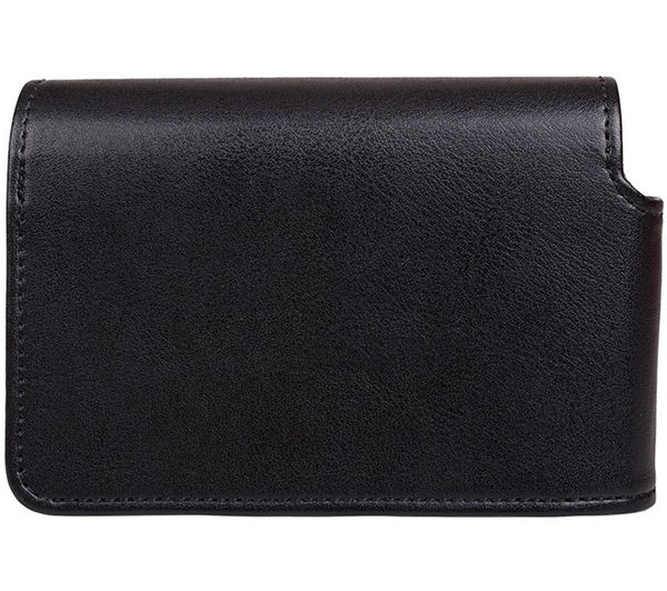 CANON DCC-1570 Genuine Leather Camera Case - Black, Black