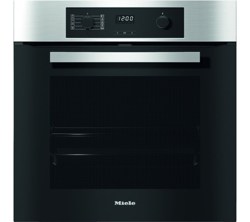 MIELE H2267-1BP Electric Oven - Steel, Red