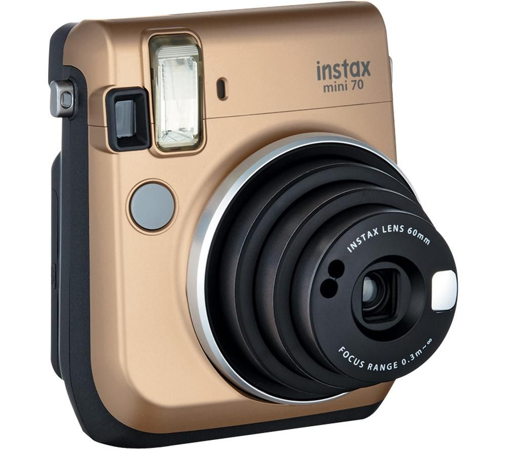 INSTAX Mini 70 Instant Camera - Gold, Gold