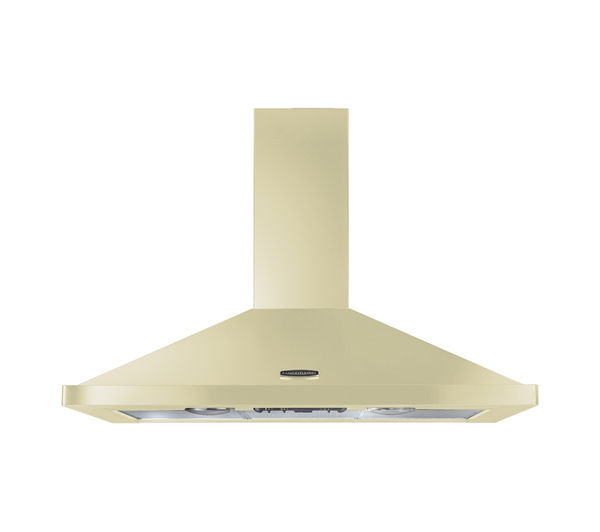 RANGEMASTER LEIHDC100CR/C Chimney Cooker Hood - Cream & Chrome, Cream