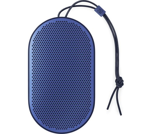 B&O B&O BEOPLAY P2 Portable Bluetooth Wireless Speaker - Royal Blue, Blue
