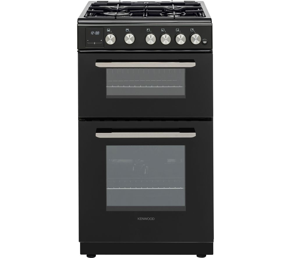 KENWOOD KTG506B19 50 cm Gas Cooker - Black, Black