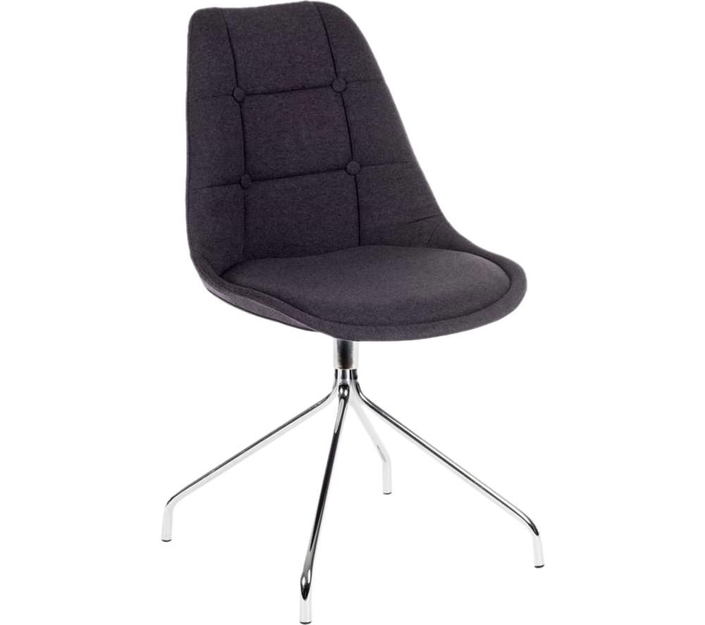 TEKNIK Breakout Fabric Chair - Graphite, Graphite