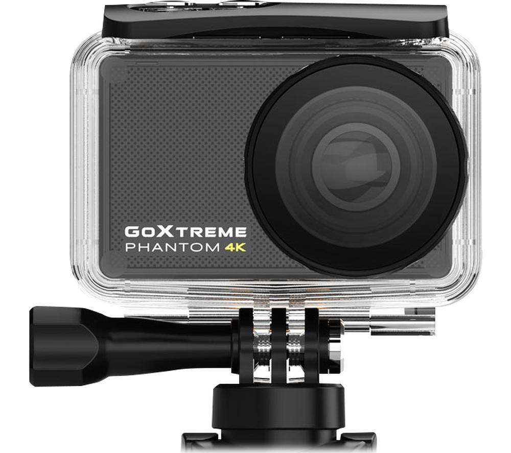 GOXTREME Phantom 4K Ultra HD Action Camera - Black, Black
