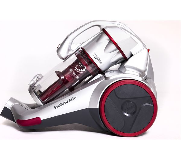 HOOVER Synthesis Activ STC18LI Cordless Vacuum Cleaner - Metallic & Red, Red