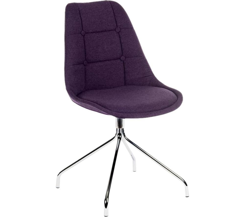 TEKNIK Breakout Fabric Chair - Plum, Plum