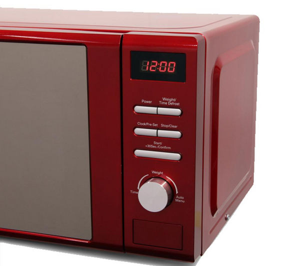 RUSSELL HOBBS RHM2064R Solo Microwave - Red, Red