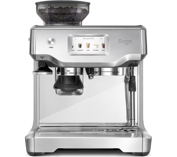 SAGE The Barista Touch Bean to Cup Coffee Machine - Stainless Steel & Chrome, Stainless Steel
