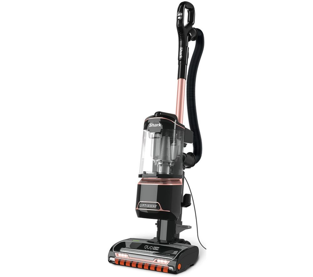 Shark DuoClean Lift-Away True Pet NV702UKT Upright Bagless Vacuum Cleaner - Grey & Rose Gold, Grey
