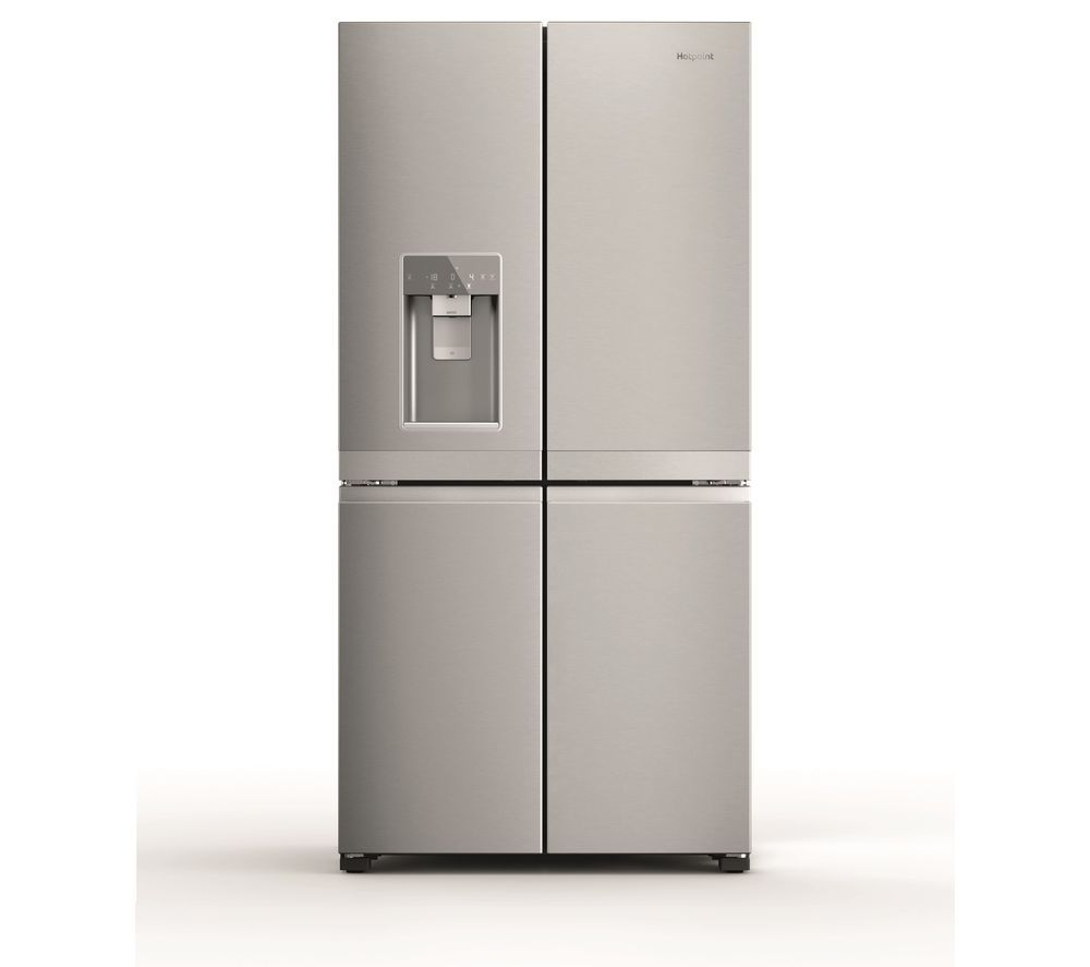 HOTPOINT HQ9I MO1L UK Fridge Freezer - Stainless Steel, Stainless Steel