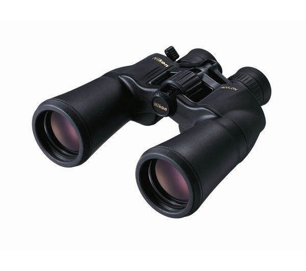 NIKON Aculon A211 Zoom Model 10-22 x 50 mm Porro Prism Binoculars