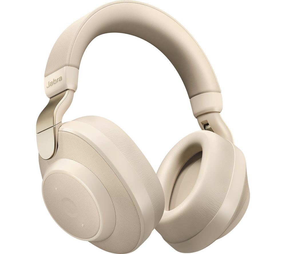 JABRA Elite 85H Wireless Bluetooth Noise-Cancelling Headphones - Gold Beige, Gold
